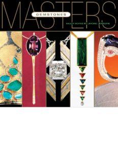 Masters: Gemstones: Major Works by Leading Jewelers