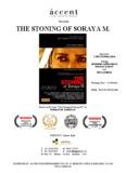 Presents THE STONING OF SORAYA M.