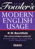 The New Fowler's Modern English Usage, Revised Edition