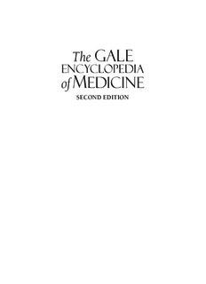 Gale Encyclopedia of Medicine. Vol. 2. 2nd ed.pdf