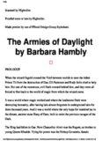 Barbara Hambly - Darwath 03 - The Armies of Daylight