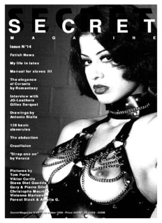 Issue N°13 Issue N°14 - Secret Magazine