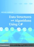 Data Structures and Algorithms Using C