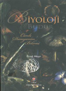Biyoloji Budur - Ernst Mayr