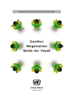 Conflict Negotiation Skills for Youth - Conflict Resolution Education