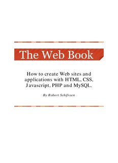 How to create Web sites and applications with HTML, CSS