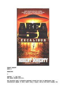 Robert Doherty - Area 51 - Excalibur