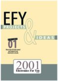 Electronics For You: Projects and Ideas 2001