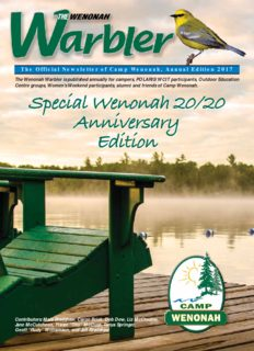 Special Wenonah 20/20 Anniversary Edition Special Wenonah 20/20 Anniversary Edition