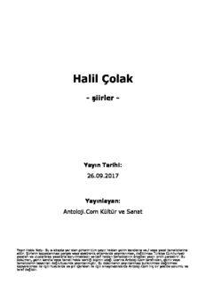 Halil Çolak