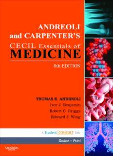 Andreoli and Carpenter's Cecil Essentials of Medicine, 8th Edition (Cecil Medicine)