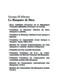 George El Khoury Le Banquier de Dieu
