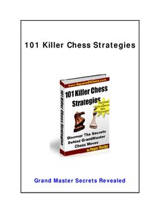 101 Chess Tactics - The Definitive Book Of Chess: Discover Chess