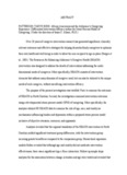 ABSTRACT PATTERSON, TARYN ROSE: African Americans and the Alzheimer's Caregiving ...