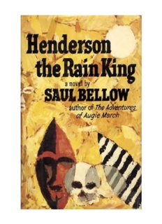 Henderson the Rain King (Classic, 20th-Century, Penguin)