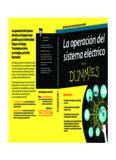 La operación del sistema eléctrico para dummies - Red Eléctrica de