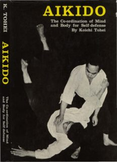 Aikido: Coordination of Mind and Body for Self Defence