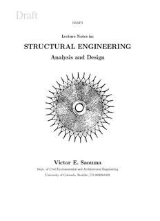 Lecture Notes in: STRUCTURAL ENGINEERING - Civil, Environmental