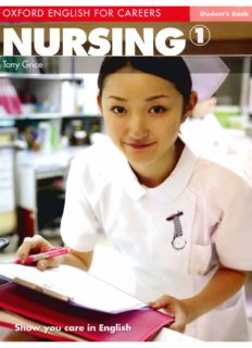 Oxford English for Careers: Nursing 1: Oxford English for Careers: Nursing: ELT Level 1: Pre-Intermediate: Student's Book