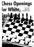 Chess Openings for White, Explained: Winning with 1. E4 (Alburt's Opening Guide, Book 1)