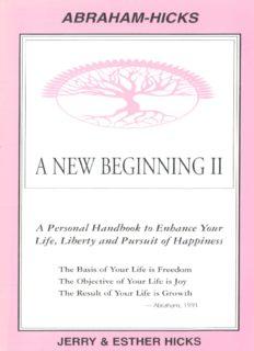 Esther Hicks A NEW BEGINNING 2.pdf