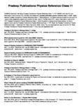 Pradeep Publications Physics Reference Class 11 PDF Free