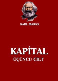 Kapital, Cilt III - Karl Marx
