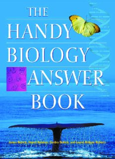 The Handy Biology Answer Book (The Handy Answer Book Series)