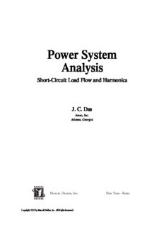 Power System Analysis: Short-Circuit Load Flow and Harmonics (Power Engineering (Willis))