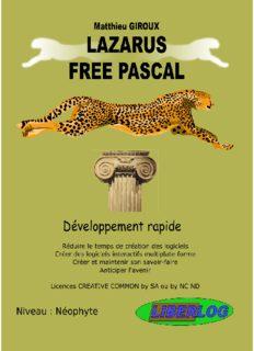 c) lazarus free pascal
