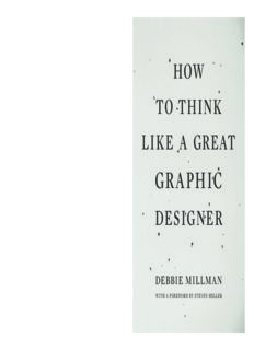 [Debbie Millman] How to Think Like a Great Graphic(BookSee