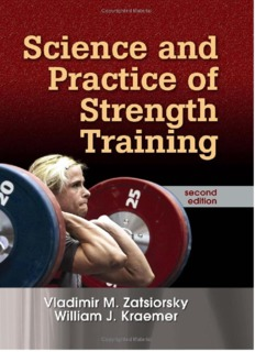 Science and Practice of Strength Training - TRAINING IN PARADISE