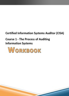 Certified Information Systems Auditor (CISA) Course 1 - The Process of Auditing Information Systems