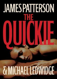 James Patterson - The Quickie