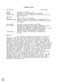 ED 085 260 AUTHOR TITLE INSTITUTION PUB DATE AVAILABLE FROh DOCUMENT RESUME ...