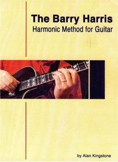 The Barry Harris Harmonic Method for Guitar