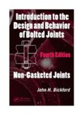 Introduction to the Design and Behavior of Bolted Joints, Fourth Edition: Non-Gasketed Joints