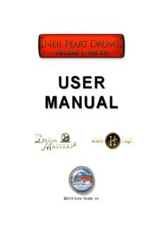 Neil Peart Infinite Player Manual