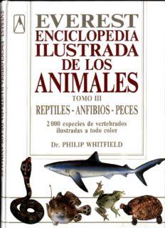 Enciclopedia ilustrada de los animales