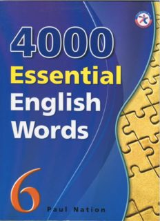 Page 1 Page 2 4000 Essential English Words 6 Page 3 4000 Essential English Words 6 Paul ...