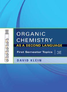 David Klein-Organic Chemistry As a Second Language, 3e_ First Semester Topics-John Wiley