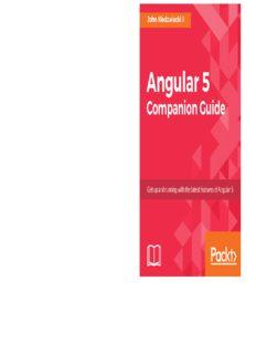 Angular 5 Companion Guide
