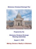 Oklahoma Olmstead Plan, 2006 - Community Service Council of