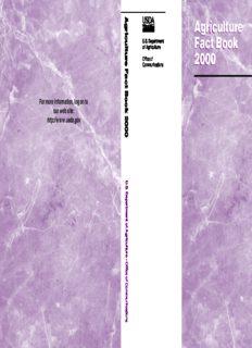 Agriculture Fact Book 2000 (Agriculture Fact Book, 2000)