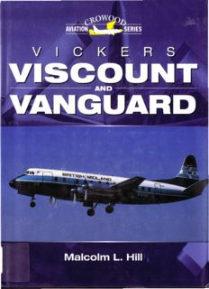 Vickers Viscount and Vanguard