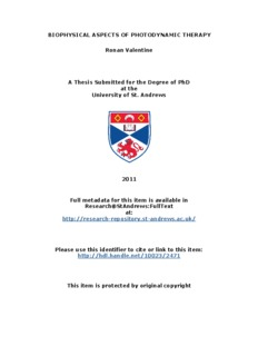 Ronan Valentine PhD thesis - CORE
