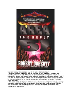 Robert Doherty - Area 51 - The Reply