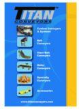 CONVEYORS Custom Conveyors & Systems Belt Conveyors Steel Belt Conveyors Roller ...