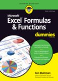 Excel Formulas & Functions For Dummies, 5th Ed.