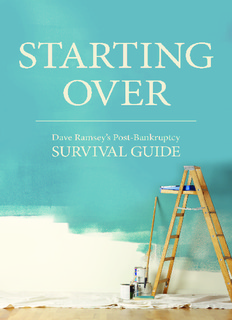 Starting Over: Dave Ramsey's Post-Bankruptcy Survival Guide